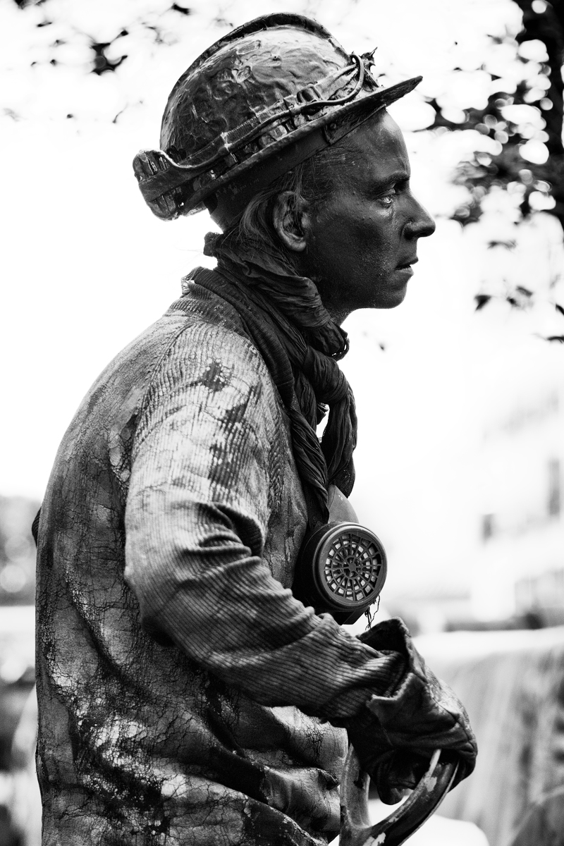 The Miner - Madrid, 2012 - Francesco Merenda Fotografia